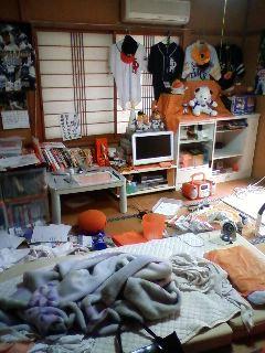 阿部マコトの汚部屋
