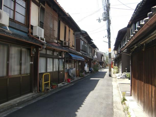 島田魁 旧宅とおぼしき場所