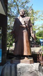 パン祖「江川英龍」像