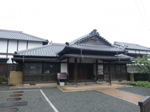 萩に移築された伊藤博文別邸